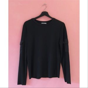 💥3 for $20💥 Zara Military Ribbed Top